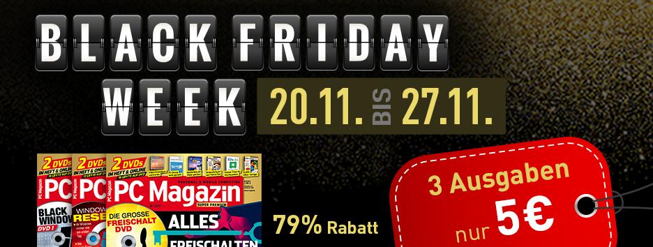 Black Friday Banner PC Magazin