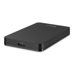 TrekStor DataStation pocket pace 3.0  1TB  black