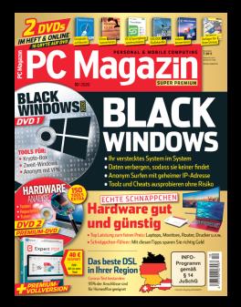 PC Magazin Super Premium mit 2 DVD's in jeder Ausgabe (inkl. online Zugriff) und eine Prämie Ihrer Wahl