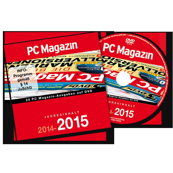 PC Magazin Jahres-DVD 2014-2015