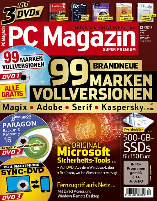 PC Magazin Super Premium Ausgabe: 12/2016