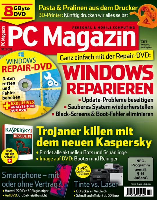 PC Magazin DVD Ausgabe: 10/2018