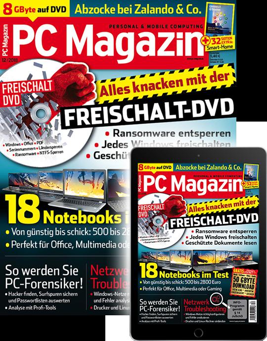 PC Magazin Kombi-Abo (Print + Digital)