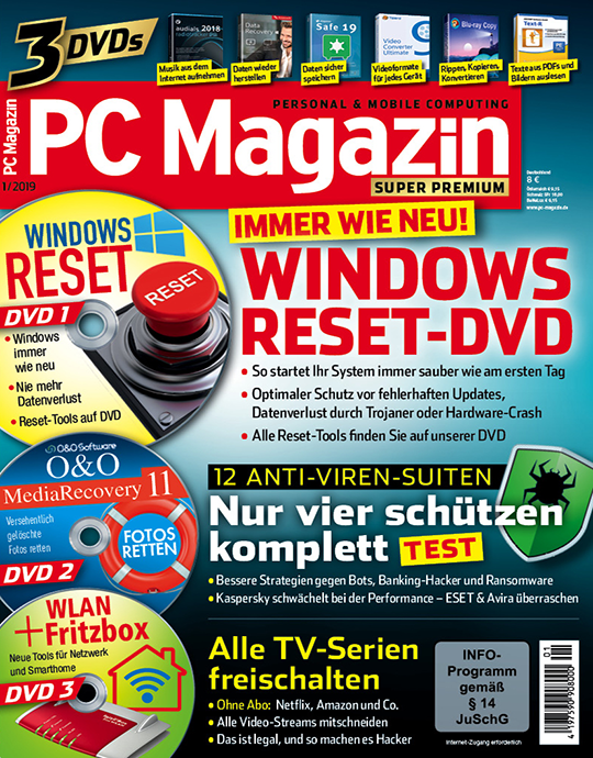 PC Magazin Super Premium: 1/2019