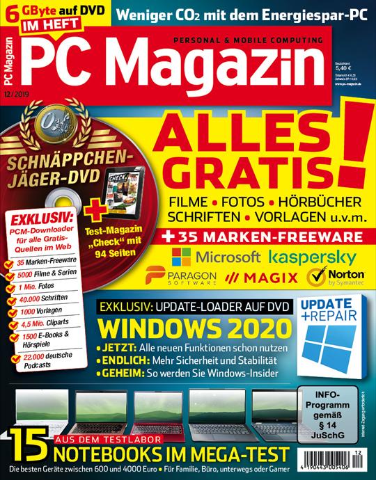 PC Magazin DVD mit einer Heft-Themen-DVD in jeder Ausgabe und eine Prämie Ihrer Wahl